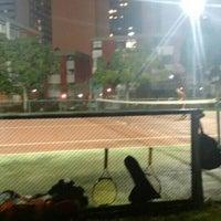 Photo taken at Quadra Tênis by Fernanda d. on 4/23/2015