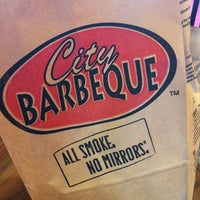 Photo taken at City Barbeque by Crystal W. on 6/24/2013