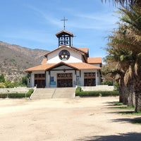 Photo taken at Santuario Santa Teresita de los Andes by Niko V. on 12/31/2012