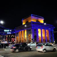 Photo taken at Bastioni di Porta Venezia by Matteo B. on 12/9/2014