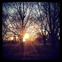 Photo taken at London Fields by Adriaan P. on 4/2/2013