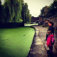 Photo taken at Old Ford Lock (Regent's Canal) by Adriaan P. on 9/23/2012