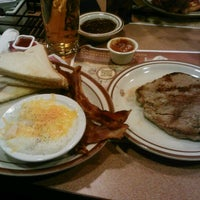 Photo taken at Denny's by Justin T. on 12/16/2012