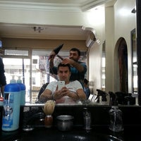 Photo taken at Ertan Brother Hair Design Center by Cihan S. on 11/9/2013