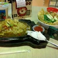 Photo taken at MATOS Food Court by Bayu H. on 4/8/2013