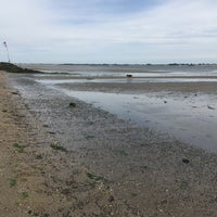 Photo taken at Plumb Beach by James J. on 7/3/2016