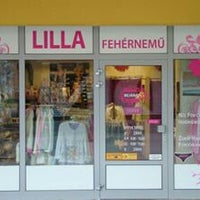 Photo taken at Lilla Fehérnemű Üzlet by Bernadett G. on 9/2/2014