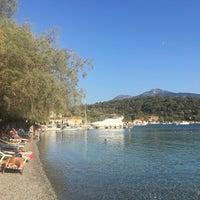 Photo taken at Poseidonio by Müge T. on 8/31/2017