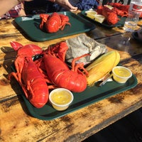 Photo taken at Muscongus Bay Lobsters by Scott R. on 10/12/2015