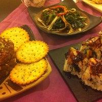 Photo taken at natur & sushi by Sara T. on 12/28/2012