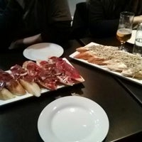 Photo taken at Cerveceria Bacciu by Sara T. on 2/16/2013