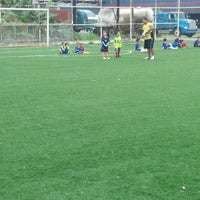 Photo taken at Academia de Formación de Futbolistas BaGoSo by Raul V. on 9/28/2013