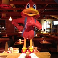 Photo taken at Red Robin Gourmet Burgers by Heather R. on 10/19/2012