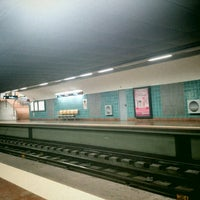 Photo taken at Metro Alvalade [VD] by Rute G. on 4/10/2014
