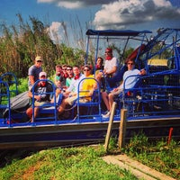 Photo taken at Airboat Tours by Arthur by Will C. on 9/28/2013