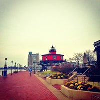 Photo taken at Seven Foot Knoll Lighthouse by Will C. on 1/11/2013