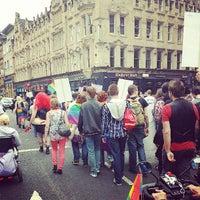 Photo taken at Glasgow Cross by Derek C. on 8/10/2013