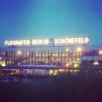 Photo taken at Berlin Schönefeld Airport (SXF) by Derek C. on 5/3/2013