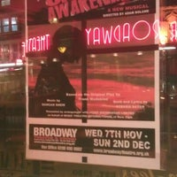 Photo taken at Broadway Theatre by Derek C. on 11/14/2012
