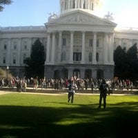 Photo taken at California State Capitol Building by Louis E. on 1/19/2013