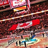 Photo taken at Air Canada Centre by Amin T. on 3/16/2013
