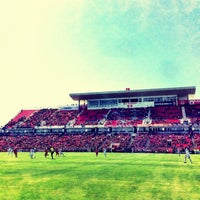 Photo taken at BMO Field by Amin T. on 3/30/2013