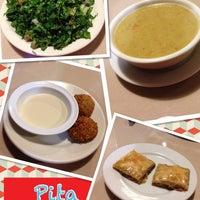 Photo taken at Pita Kitchen Plus by petra-b on 12/17/2013