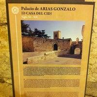 Photo taken at Palacio De Arias Gonzalo by Yalocin on 8/3/2013