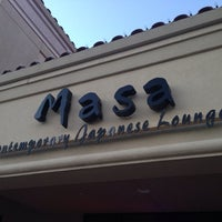 Photo taken at Masa Contemporary Japanese Lounge by Jason S. H. on 2/24/2014