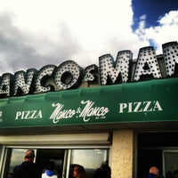 Photo taken at Manco & Manco Pizza by Will R. on 3/29/2013