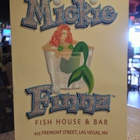 Photo taken at Mickie Finnz Fish House & Bar by Sean P. on 12/11/2012