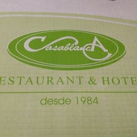 Photo taken at Restaurant Casa Blanca by Elizabeth I. on 11/4/2012