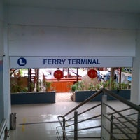 Photo taken at Harbour Bay International Ferry Terminal by [S]ir` s. on 2/19/2013