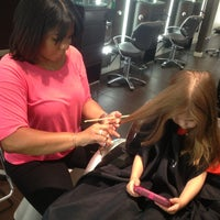 Photo taken at Scott J Aveda Salon Spa by Valerie G. on 8/5/2013
