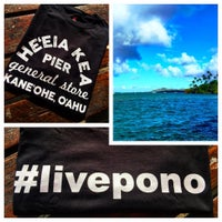 Photo taken at He'eia Pier General Store & Deli by Tina M. on 8/1/2015