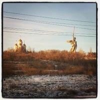 Снимок сделан в Родина-мать зовёт! пользователем Семён С. 12/25/2012