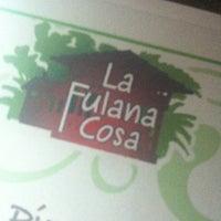 Photo taken at La Fulana Cosa by Freddy R. on 10/6/2012