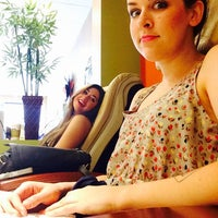 Photo taken at Hunter Woods Nails & Spa by celina c. on 6/14/2014