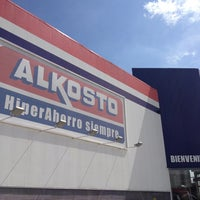 Photo taken at Alkosto by Gustavo C. on 1/12/2013