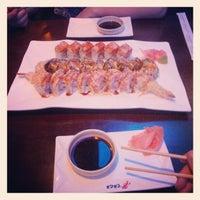 Photo taken at Saga Steakhouse & Sushi Bar by Chris M. on 2/15/2013