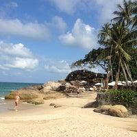 Photo taken at Panviman Resort Koh Phangan by Ekaterina D. on 1/22/2013