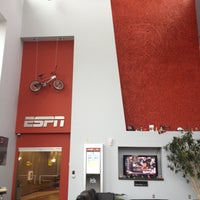 Photo taken at ESPN Building 12 by Amanda D. on 4/23/2013