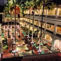 Photo taken at Raffles Hotel by dixson l. on 2/20/2013