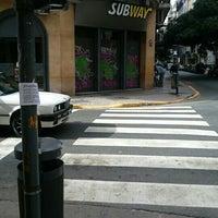 Photo taken at Subway by Pablo B. on 6/20/2016