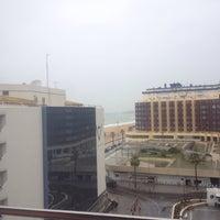 Photo taken at Hotel Spa Cadiz Plaza by Nahúm C. on 3/18/2015