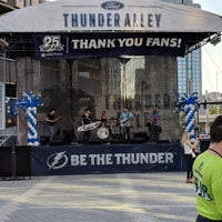 Photo taken at Ford Thunder Alley - West Plaza, Tampa Bay Times Forum by Andy H. on 4/6/2018