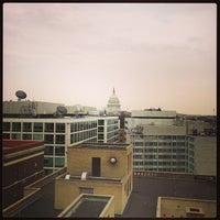 Photo taken at Washington Court Hotel by Linda N. on 3/16/2013