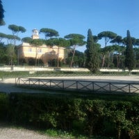 Photo taken at Piazza Di Siena by Stefano S. on 11/9/2012