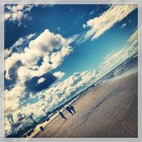 Photo taken at Liepājas pludmale / Liepaja Beach by Anastasia H. on 7/20/2013
