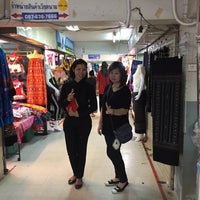Photo taken at Indo- Chinese Market Mukdahan by Patcha J. on 8/20/2017